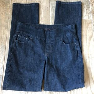 Jag High Rise Straight Leg Jeans